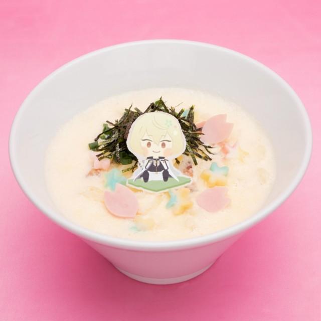 ひげきりのホワイトクリームおうどん