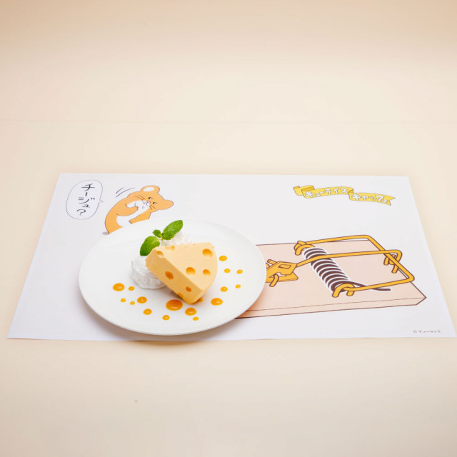 スキネズミのレアチーズケーキ
