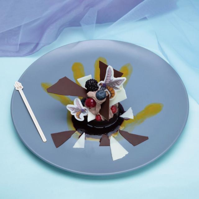 風穴チョコケーキ