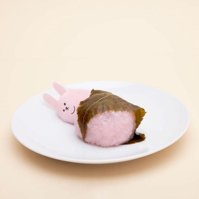 スキウサギの桜餅