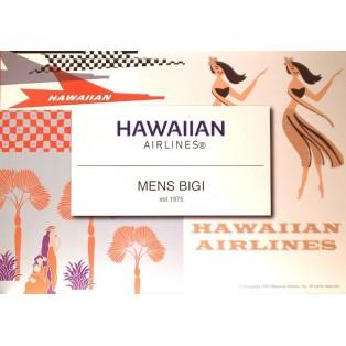 【HAWAIIAN AIRLINES×MEN'S BIGI】新作コラボTシャツ