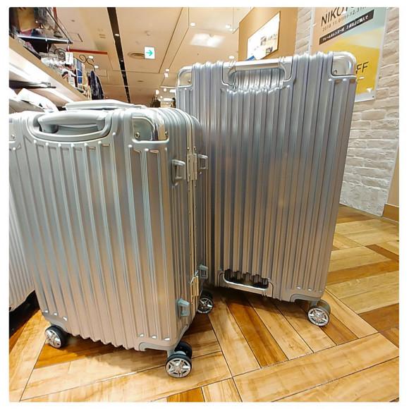軽量+頑強+デザイン性◎のスーツケース【TRIDENT】!!