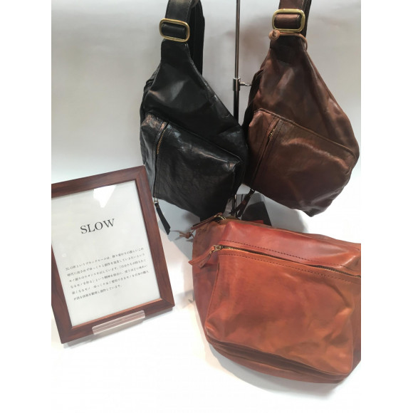 SLOW~made in JAPAN~ 新作バッグ入荷しました!!
