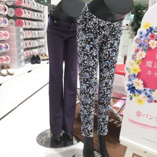 春の彩り魔法のパンツキャンペーン開催中☆