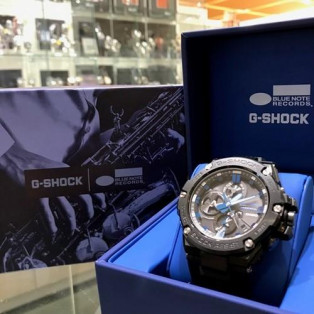 【G-SHOCK】BLUE NOTEコラボ