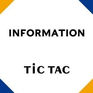 TiCTAC調布パルコ店 臨時休業のおしらせ