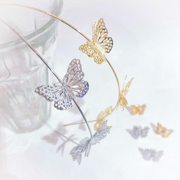 ☆透かし蝶々カチューシャ☆