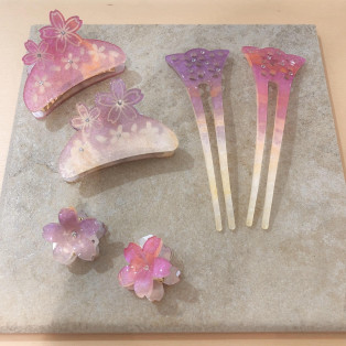 ☆桜モチーフヘアアイテム☆