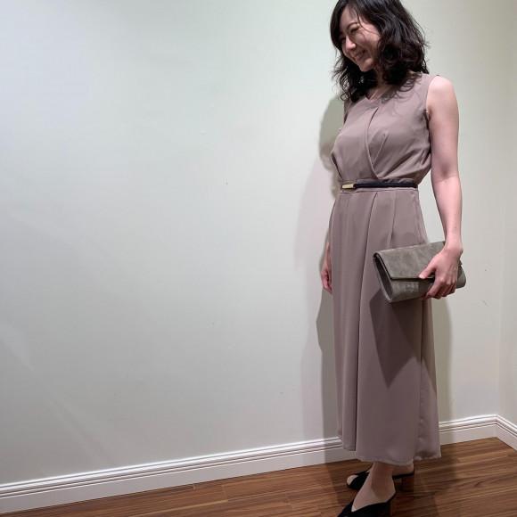 スカート見え⁉︎パンツドレス