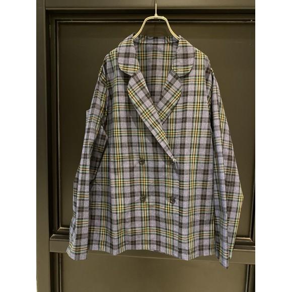 T/Rチェックシャツジャケット