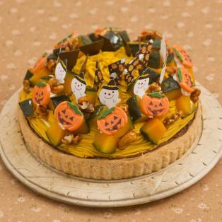 ハロウィン限定かぼちゃのタルト☆