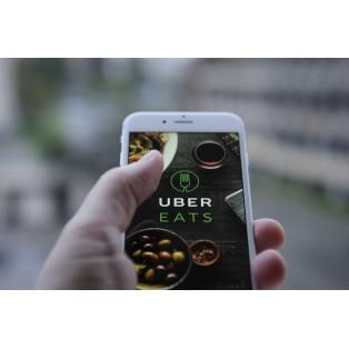 UberEatsはじめました。