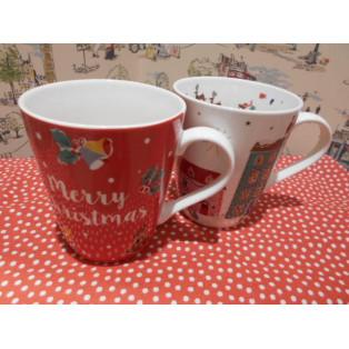 クリスマスマグカップ