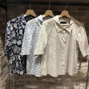 【新作アイテム】5分袖のリバティシャツ