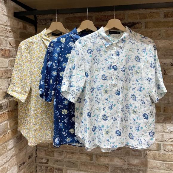 【オススメ商品】リネン素材のリバティシャツ