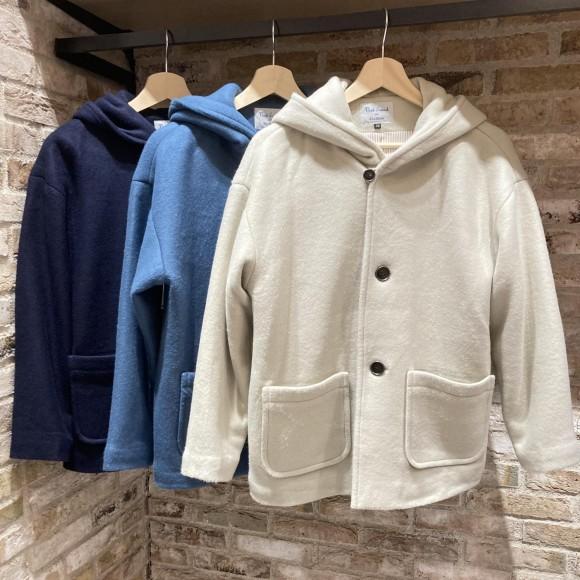 【新作商品】柔らかい冬のジャケットが入荷致しました!