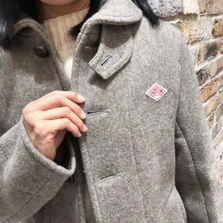 【おすすめ商品】人気のDANTONのコート残りわずかとなってます!