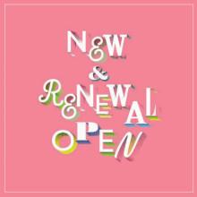 4F・NEW&RENEWAL OPENのお知らせ