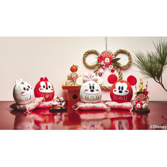 ミッキーマウスモチーフのだるまやお正月飾りなど新年にぴったりのアイテムが12月1日(火)より順次発売