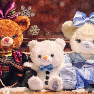 『アナと雪の女王2』に登場するエルサとアナをイメージしたユニベアシティが、特別なパッケージで11/21(木)に登場!