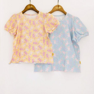 パフスリーブTシャツ♡