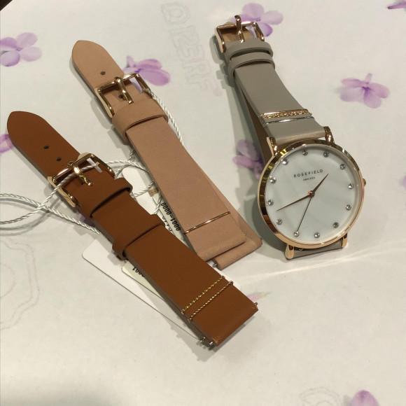 【ROSE FIELD】腕時計+替えベルト30%off!