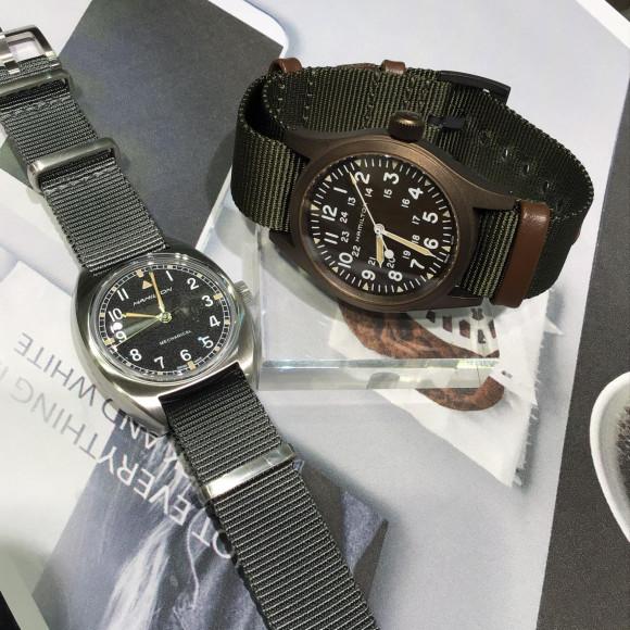 【HAMILTON 】手巻き式時計⌚︎