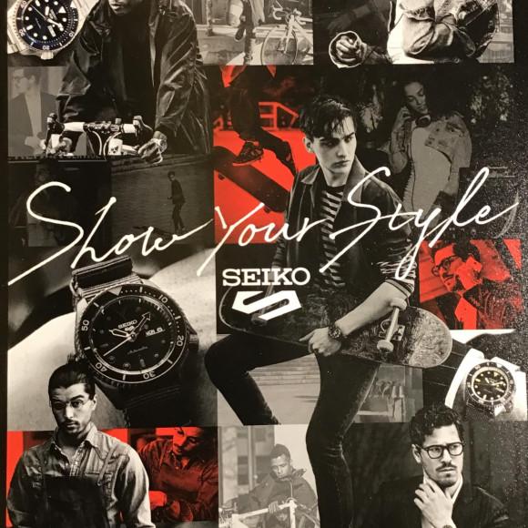 【SEIKO 5 SPORTS】POP UP!!!!!!!