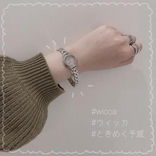 【wicca】定番腕時計