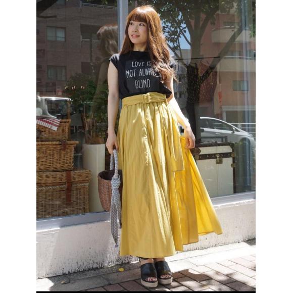 new*ボイルロングスカート