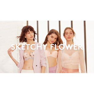 Sketchy flower
