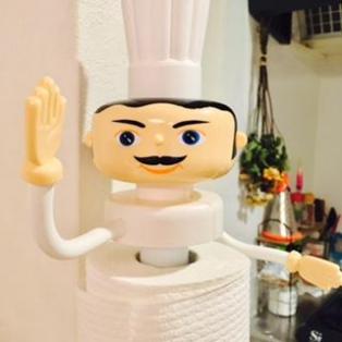 シンプルなキッチンに遊び心を♪