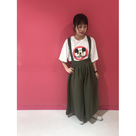 Mickey Mouse Big Tシャツ