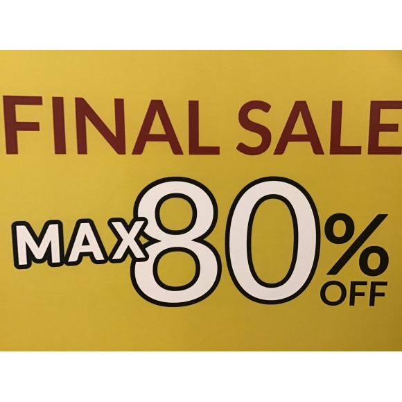 【MAX80%offSALE実施中!】早い者勝ちです!是非!お早目に!