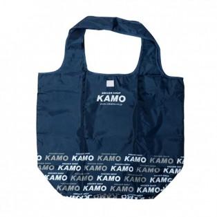 KAMO ORIGINAL エコバッグ(ネイビー)