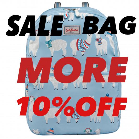 セール対象バッグがレジにて更に10%OFF!!