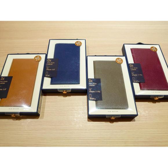 厳選されたプレミアムレザー使用の高級iPhoneケース!