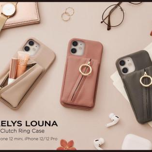 オシャレで便利なポーチ付きiPhoneケース☆Clutch Ring Case
