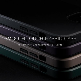 丈夫でスリムなSmooth Touch Hybrid Case!
