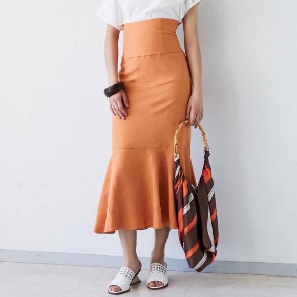 new! マーメイドスカート