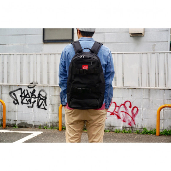 Manhattan Portage FUKUOKA ~<NEW>McCarren Skateboard Backpack Ver.2 シューズ収納スペース付き~
