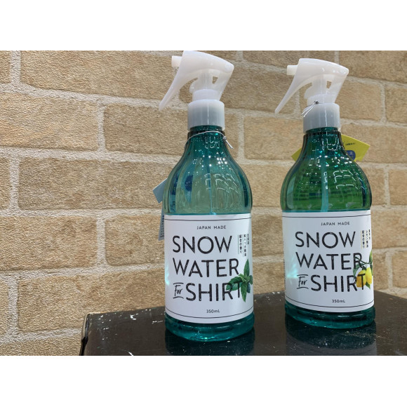 SNOW WATER FOR SHIRT