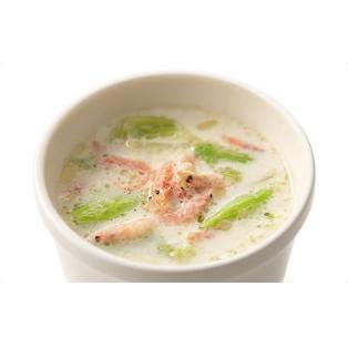 3月のおすすめスープ【桜海老と春キャベツのクリームスープ】