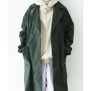 【 nest Robe 】スーピマコットンフレンチアーミーコート