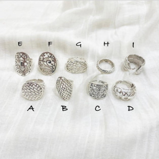 Silver925 Lacy ring 4/8 21:00-