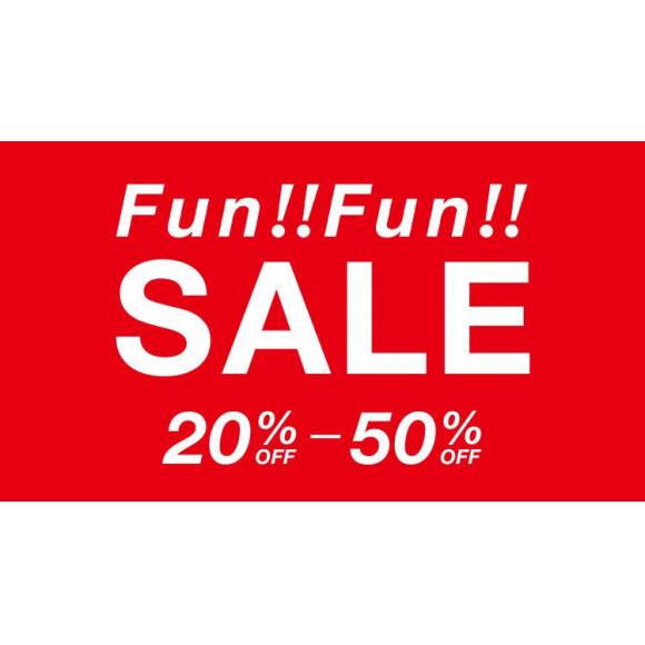 【MAX50%OFF】FunFunSALE!!