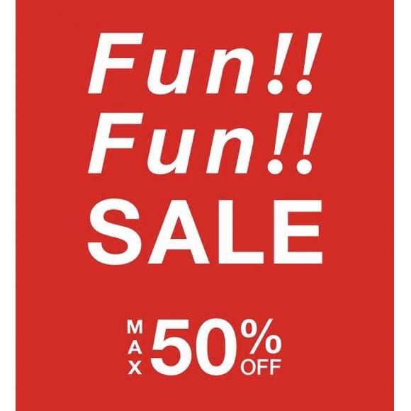 Fun‼︎Fun‼︎SALE スタート!