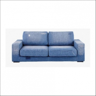 FRANKLIN SOFA DAMAGE DENIM