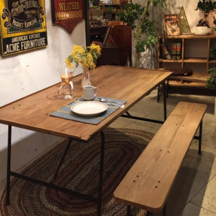【GARAGE】BRIGHTON DINING TABLE