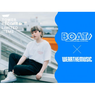 BOAT×TOWER RECORDS 福岡パルコ店 コラボ企画